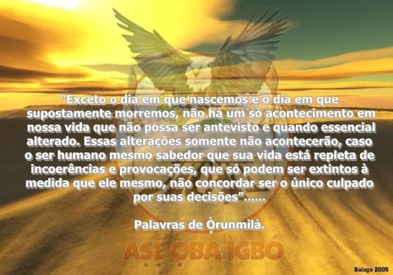 Palavras de Orunmilá
